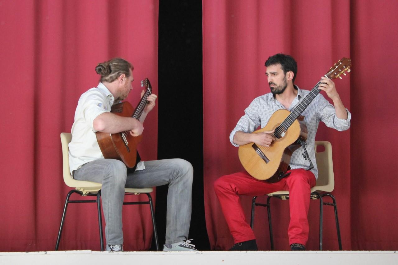 Duo avec Jérémie Lemesle avril 2017