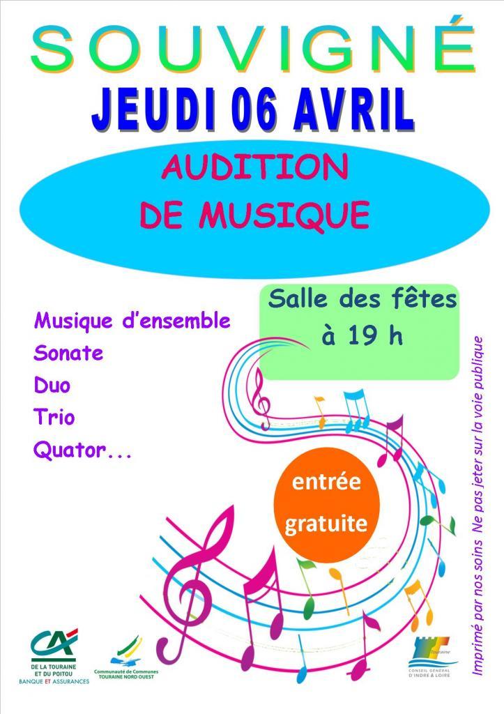 Affiche audition Souvigné 06 04 2017