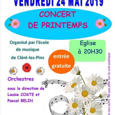 Affiche concert Mazières 24 mai 2019