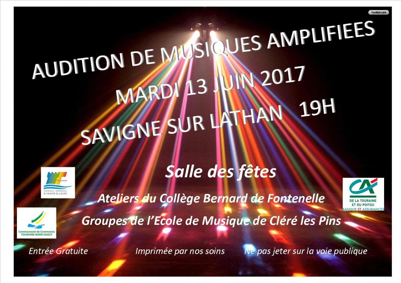 affiche MA Savigné 13 juin 2017