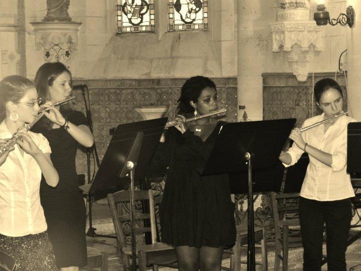 Notre Quatuor de Flûtes