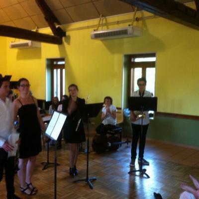 Quatuor à vent concert de Souvigné